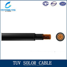 TUV Photovolataic Power Generation Equipement LSZH Solar Cable