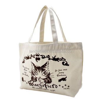 Custom Cotton Canvas Shopping Carry Tote Bag