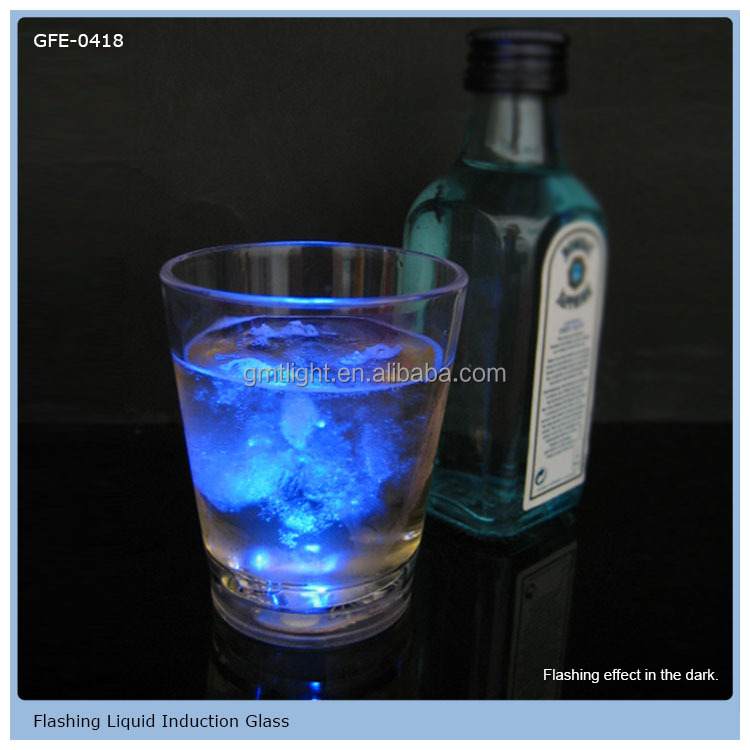 Liquid Sensor LED Light Up Shot Glass