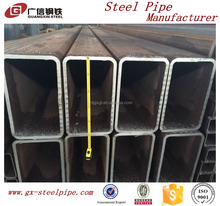 best price DIN 2448 ST52 S235JR hot dipped Galvanized Welded Rectangular steel pipe