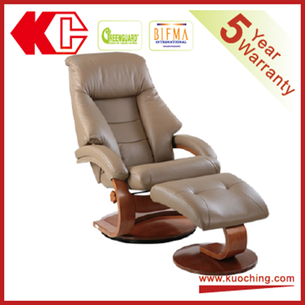 Reclining Swivel Living Room Chair With Footrest Chair