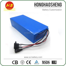 Hot sell rechargeable lithium ion battery pack 48v 40ah for electric scooter