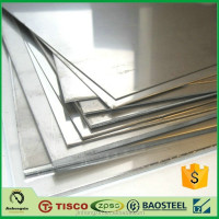 0.5mm 304 4' x 8' 2b finish stainless steel sheet with mill test certification
