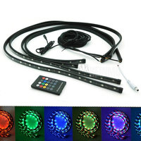 Car Truck Decoration Flash Under Glow Lamp , LED Strobe Light Underbody Undercar LED Glow lights