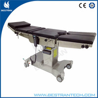 China BT-RA007 Top quality x-ray and c-ram electric folding operation table hospital operating theatre bed
