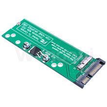 Good PerformSSD to SATA Converter for 2012 MacBook Air A1466 A1465 SSD to SATA Adapter Card to SATA Cable , Original Slot