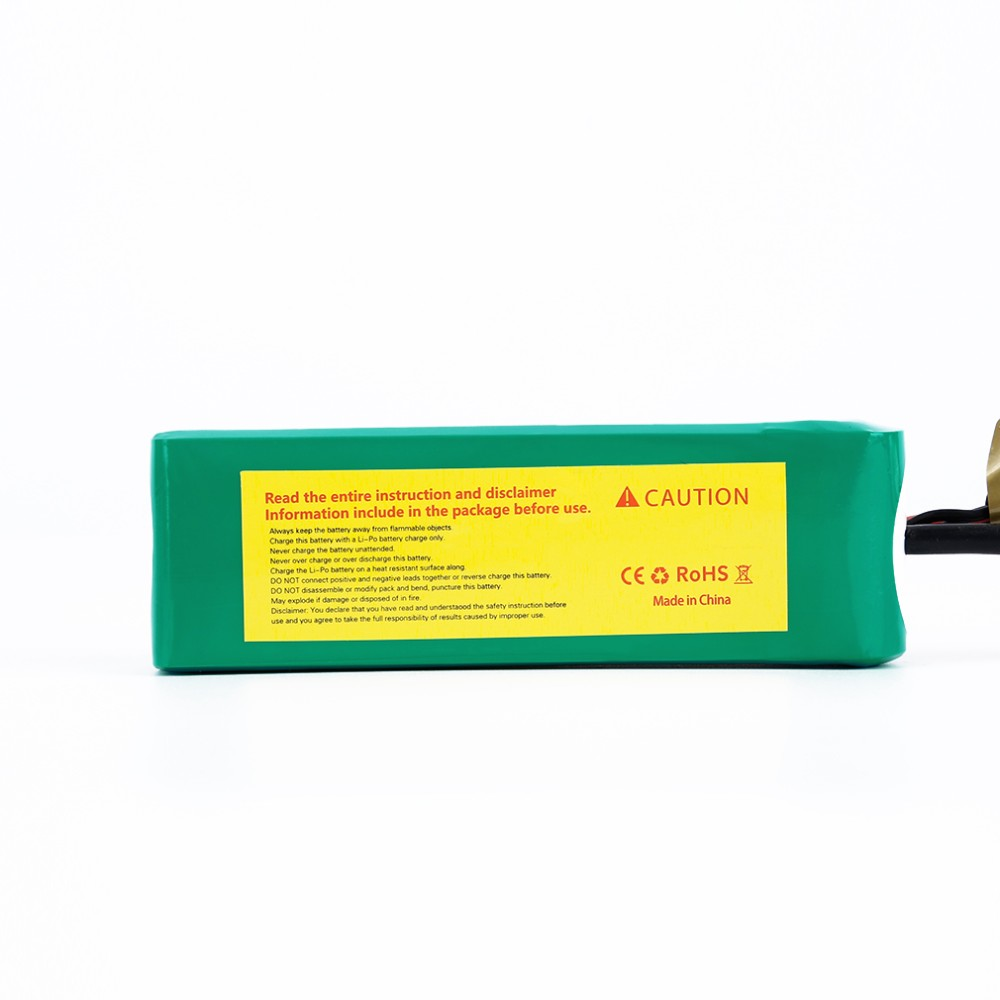 ACEHE 11.1V 2200mAh 75C Capacity High Rate Lipo RC Battery
