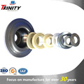 On sale idler roller stainless housing for bearing with shaft labyrinth seals