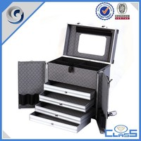 Packaging Boxes High Quality New Design Drawer Multi-function Custom Aluminum Instrument Case