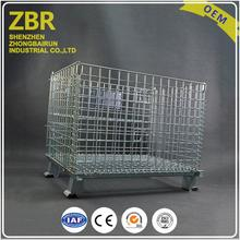 Evergreat Cage Pallet Wire Steel Used Collapsible Wire Container