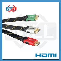 Professional OEM high speed 1.4 version Metal Shell Hdmi Cable with UL