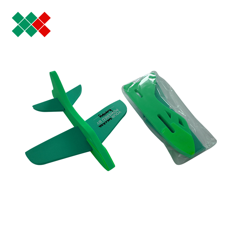 2015 custom 3d puzzle eps foam plane toy for promotional gift