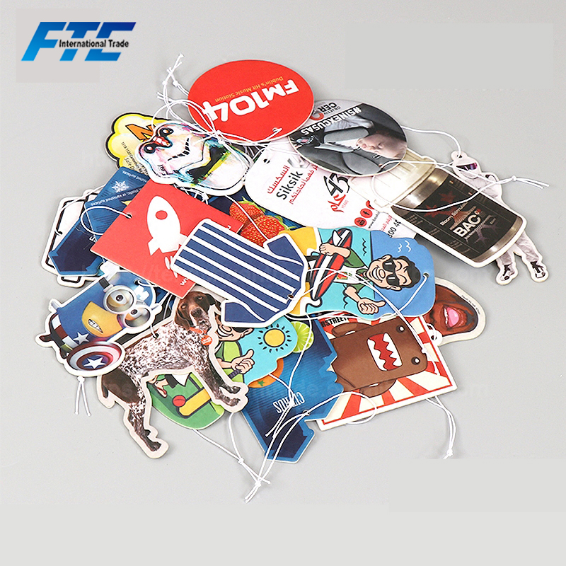 Customized Shape Basketball Car Air Freshener for Promotion