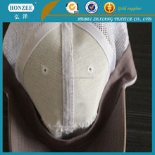 low formaldehyde content polyseter wholesale interfacing for baseball cap