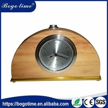 Latest New Model OEM CE table clock with alarm