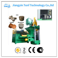 Y83-3150 high quality scrap metal copper chip briquetting press(factory and supplier)