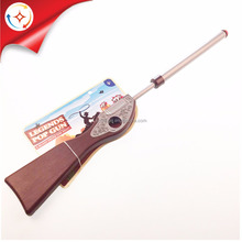 Promotion Classic Wild West Pretend Play Air Power Plastic Pop Blaster Toy Gun