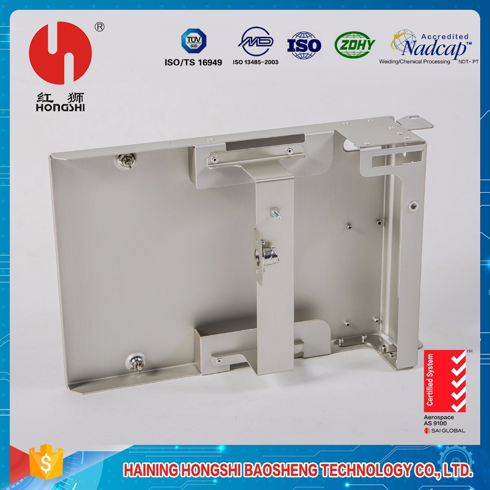 waterproof aluminum metal compound case for high tap assy