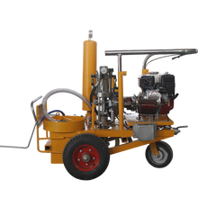 Road line Cold spray marking machine