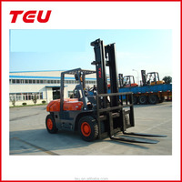 7 tons Diesel Forklift Truck with flexible tilt angle