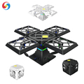 Black Knight Cube 2018 New RC Quadcopter Mini Drone 2.4G WIFI FPV 6-Axis Gyro 3D Flips and Rolls with flashing light