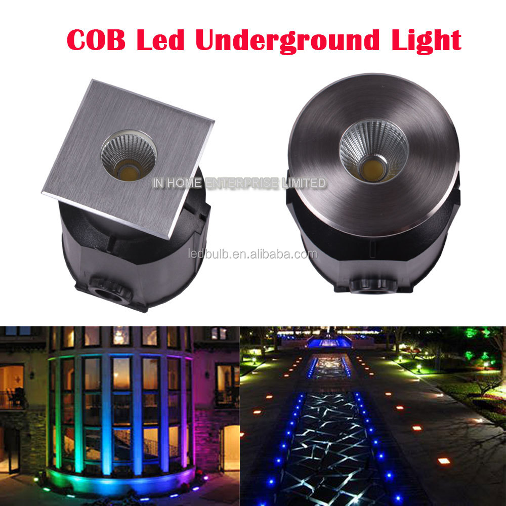 High quality 3W RGB Outdoor underground light Mini Led Underground Light for ingroud, garden