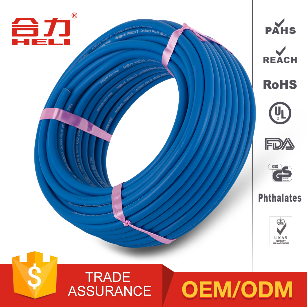 OEM / ODM customized blue pneumatic pu air hose/polyurethane tubing