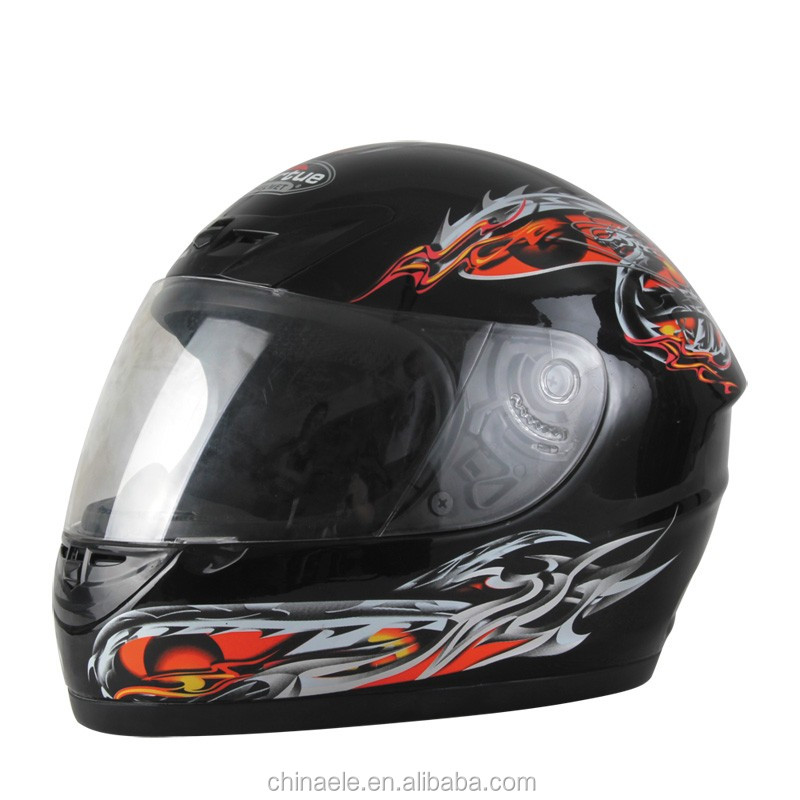 Hot sale ABS full face motorcycle helmet for adult in colorful