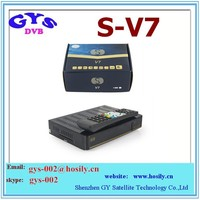Original S V7 HD DVB S2 HD Digital Satellite Receiver S-V7 S V7 tv box
