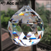 30mm Wholesale Customize Home Decoration Real Faceted Crystal Ball