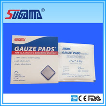 The highest quality medical white absorbent gauze swab in time delivery supplier