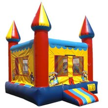 2015 barato bola inflable gorila bebé/indoor mini castillo hinchable