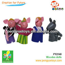hot sell wooden farm toy set for children