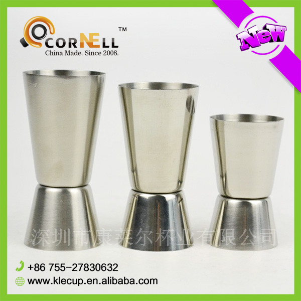 Hot Unbreakable Wine Glasses 15/20/25ml Stainless Steel Wine Cup With Customized Logo