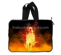 "15"" printed impact resistant laptop sleeve with handle"