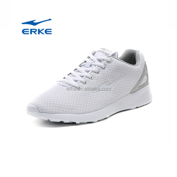 2017 simple design summer breathable mesh ERKE brand sports shoes man running