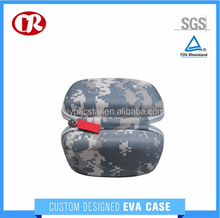 Camouflage multi-function zipper case for portable custom eva tool case