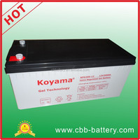 High performance 200ah 12V gel batetry PV storage Battery