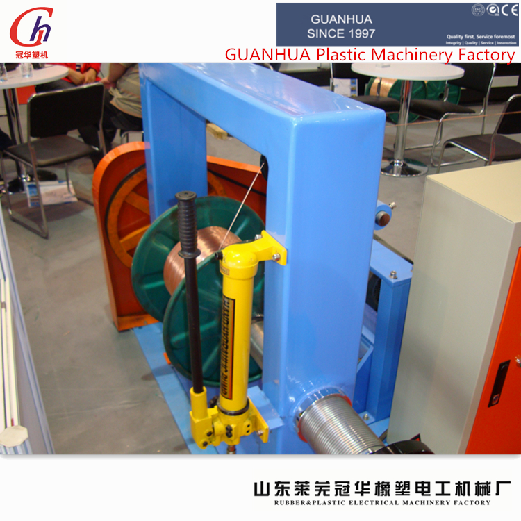 wire and cable extrusion machine/insulated electric wire cable making equipment