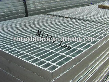 galvanized sideroad walkway drainage /trench flat bar floor grating /metal bar grating