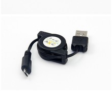 Wholesale cellphone accessories retractable usb cable from OEM factory for Samsung