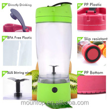Popular juice maker for fitness OEM logo juice mixer cup shaker bottle