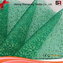 China Wholesale Custom Organza Fabric With Star Printed