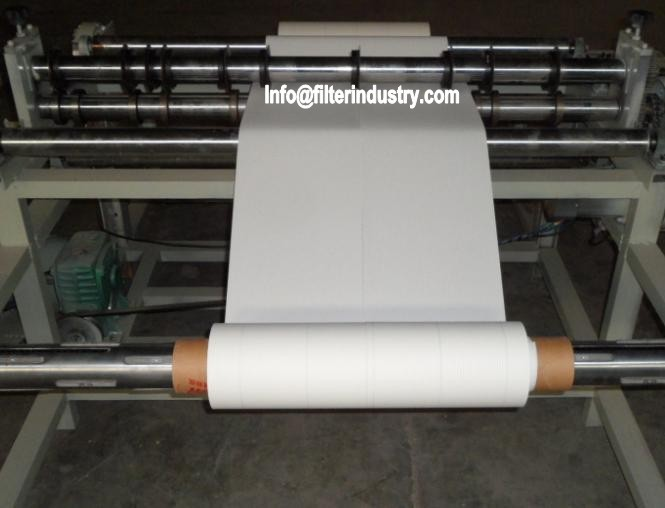 Air Filter Paper Slitting Machine