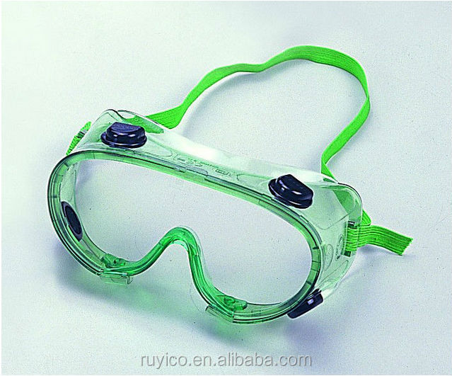anti-fog safety goggle / eye protection glasses for industrial chemical