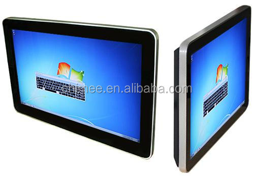 42 Inch Intel I3 CPU waterproof touch screen all in one computer networking