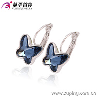 (29150)Xuping Fashionable Crystal Earring Beautiful Design Swarovski Element Jewelry