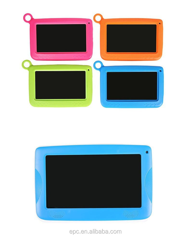 OEM Education toy learning machine kids tablet with child proof tablet case