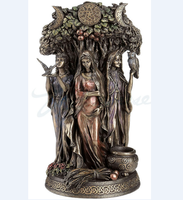 Custom Triple Goddess Maiden Mother Figurine And The Crone Statue bronze Sculpture