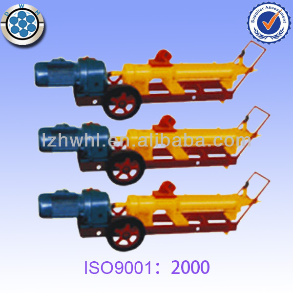 Vacuum grouting equipment for post tensioning structure